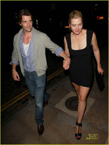 Kate Winslet & Louis Dowler: Holding Hands
