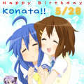 Konata hates Yui