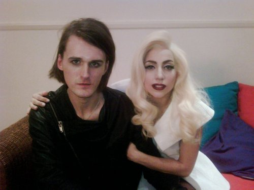Lady GaGa with Gareth Pugh