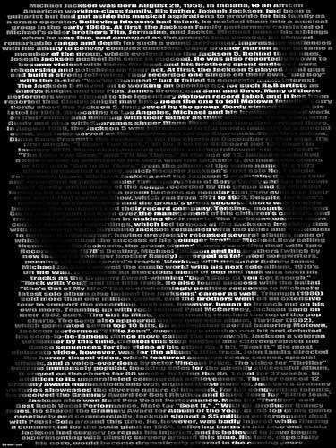 MJ Text Art