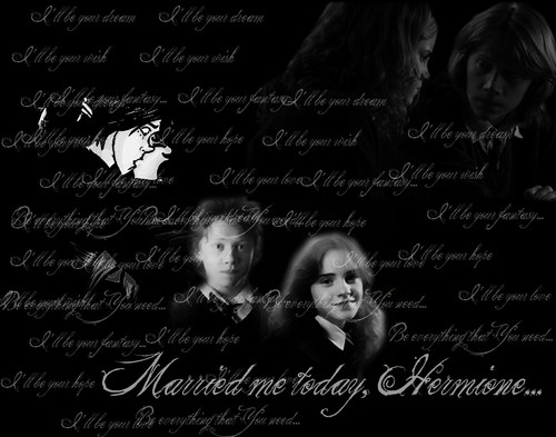 Married me, Hermione... ROMIONE <333