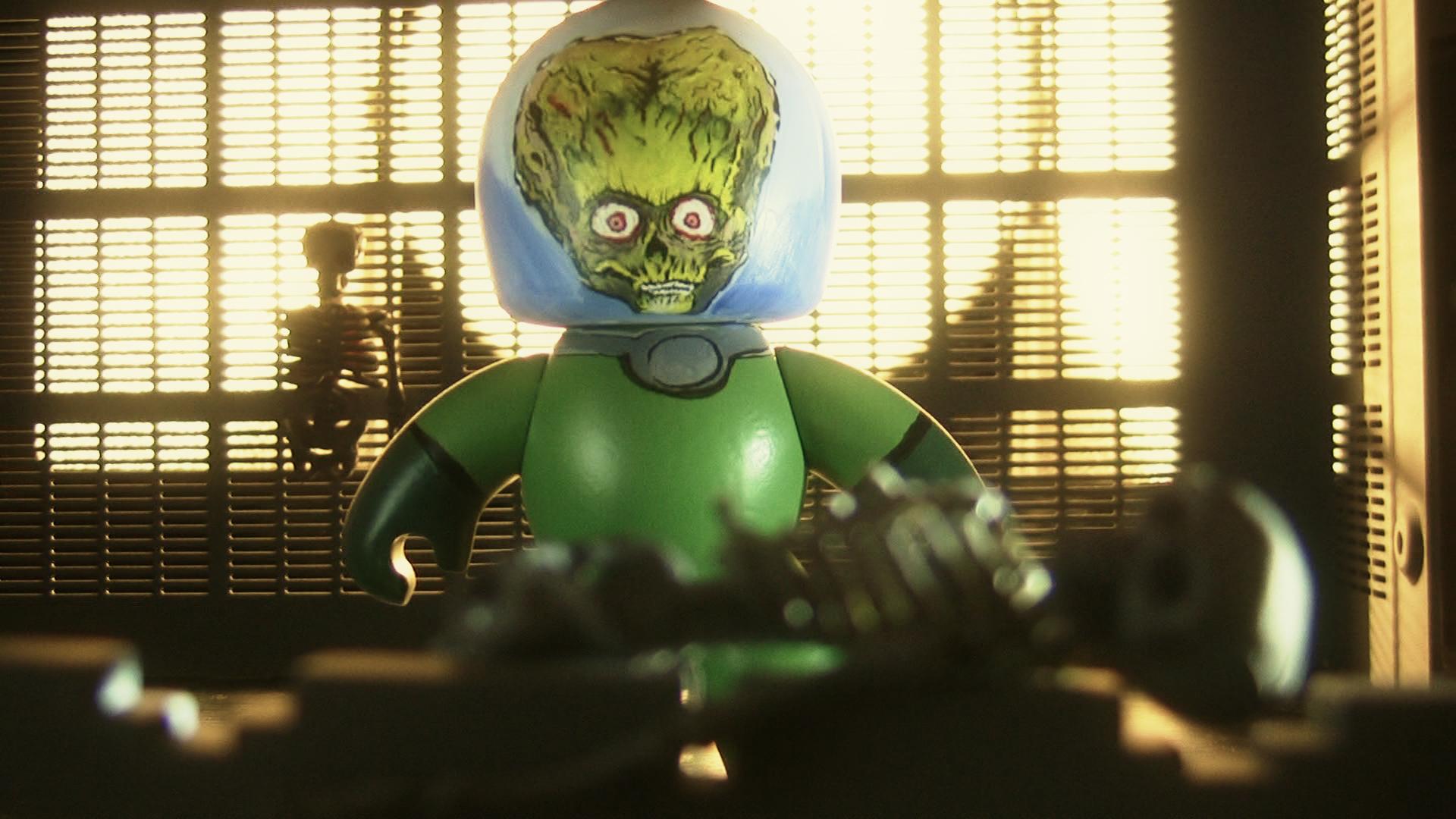 Mars Attacks Mighty Mugg Tim Burton Fan Art 14999732
