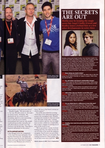 Merlin - Season 3 - SFX articolo Scans