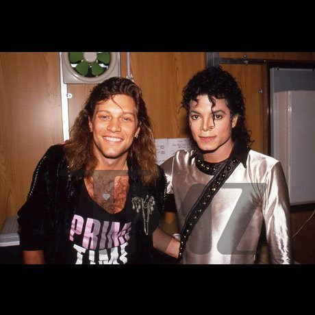 Michael and Jon Bon Jovi!!! <3