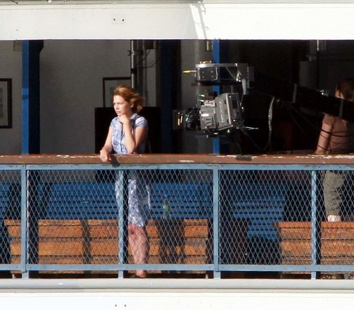 "Michelle Williams on ""TTW"" Set 17.8.2010"