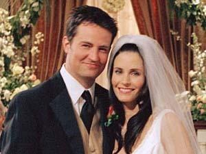 Monica and Chandler [Friends]