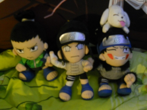 My Naruto Plushies