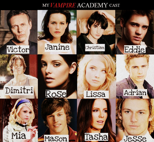 My cast - vampire-academy Photo