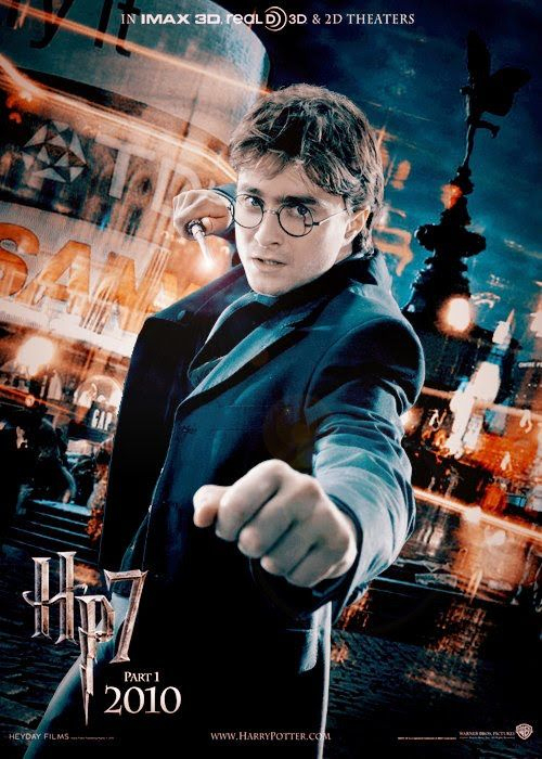 harry potter and deathly hallows poster. New Harry Potter and the