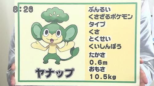 New Pokemon: Yanappu