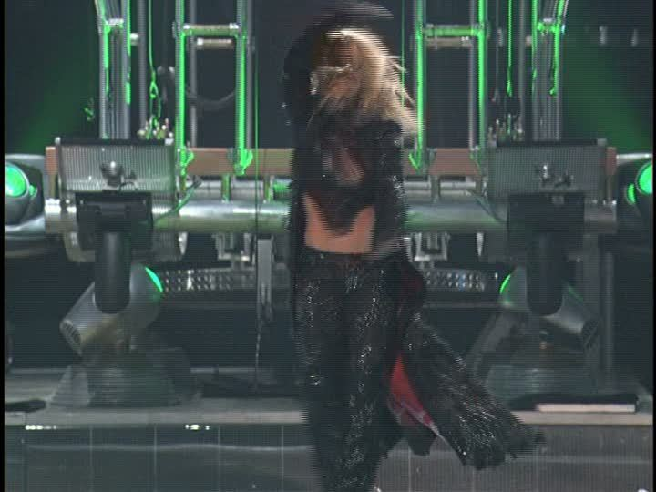 Britney spears oops i did it again live from las vegas