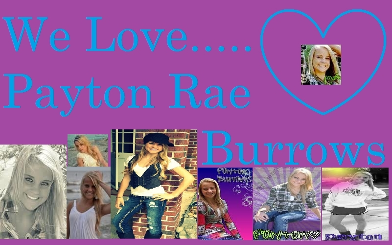 Payton rae payton burrows fan art 14952968 fanpop