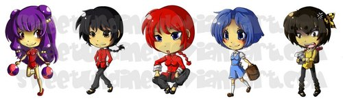 "Ranma 1/2 ""Key-chain"" Banner"