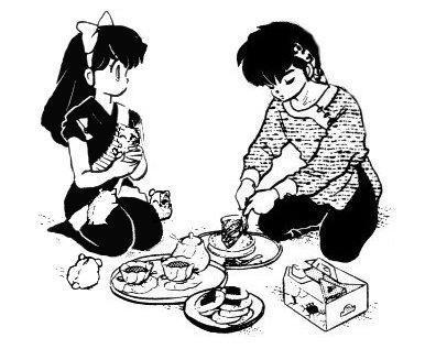 Ranma 1/2: Ryoga and Ukyo
