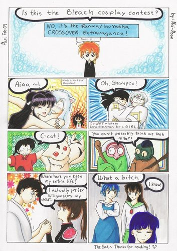Ranma 1/2 and InuYasha - CROSSOVER - lolly4me2 Fan Art