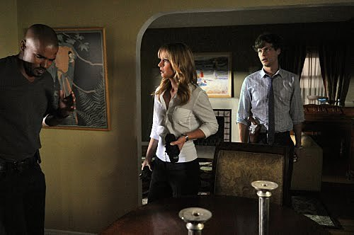 Reid, JJ and 摩根 in season 6