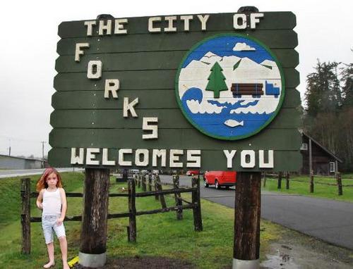 Renesmee por the forks sign