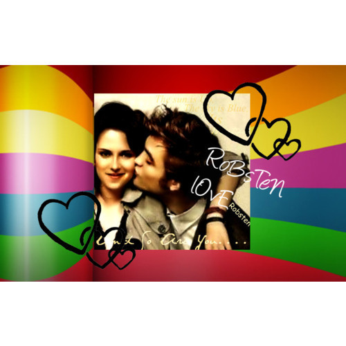Robsten Love - robert-pattinson-and-kristen-stewart Fan Art
