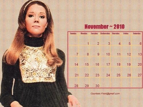 November 2010 Diana (calendar)