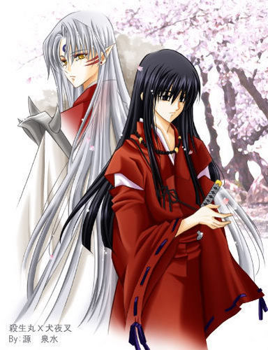 Sesshomaru and Human Inuyasha