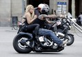 Shakira Spotted Riding Bike Without Helmet  - shakira photo