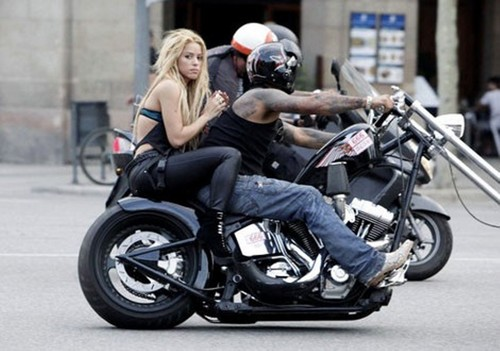 Shakira Spotted Riding Bike Without kofia, chapeo