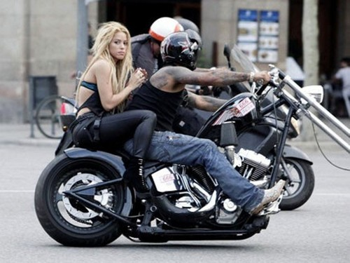 Shakira Spotted Riding Bike Without Helmet