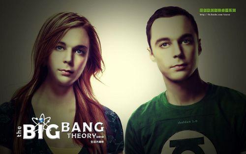 生活大爆炸 壁纸 called Sheldon's secret twin sister