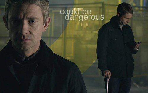 Sherlock in der BBC Hintergrund titled Sherlock