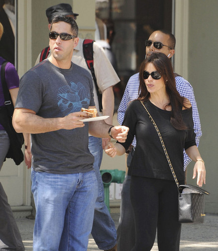 Sofia Vergara Walks with Her Boyfriend in SoHo