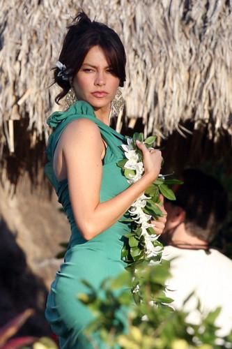 Sofia Vergara in Hawaii