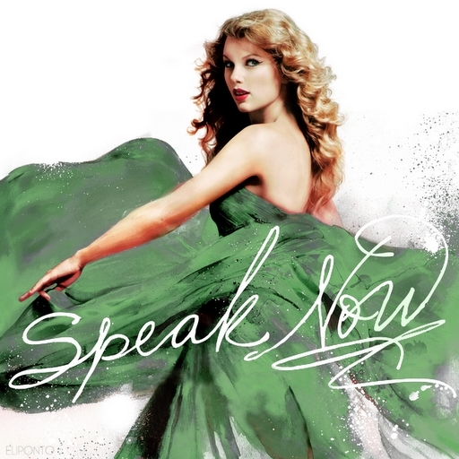 Album Cover Speak Now. Speak Now [FanMade Album Cover