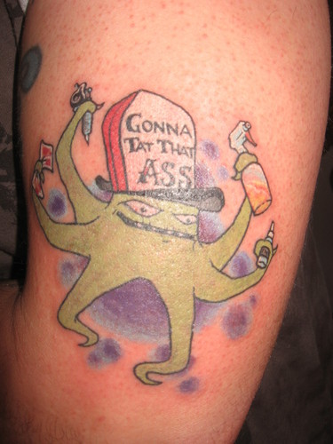 Squidbillies Tattoo