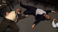 Dwight and Michael playing dead