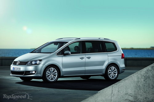 The new VW Sharan