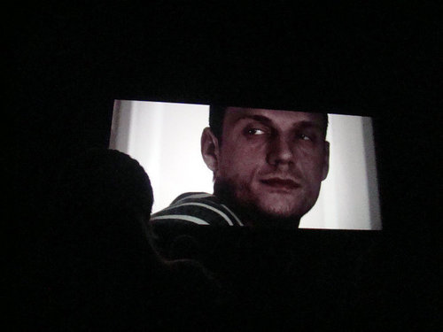 "The screening of Nick's ""The Pendant"""
