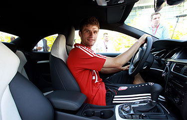 Thomas Müller for 아우디