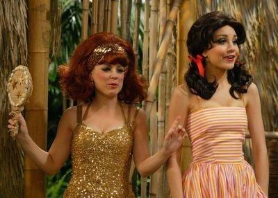 Tina as Ginger & holly Mary Ann