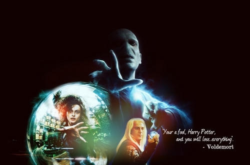 Voldemort Bellatrix and Lucius