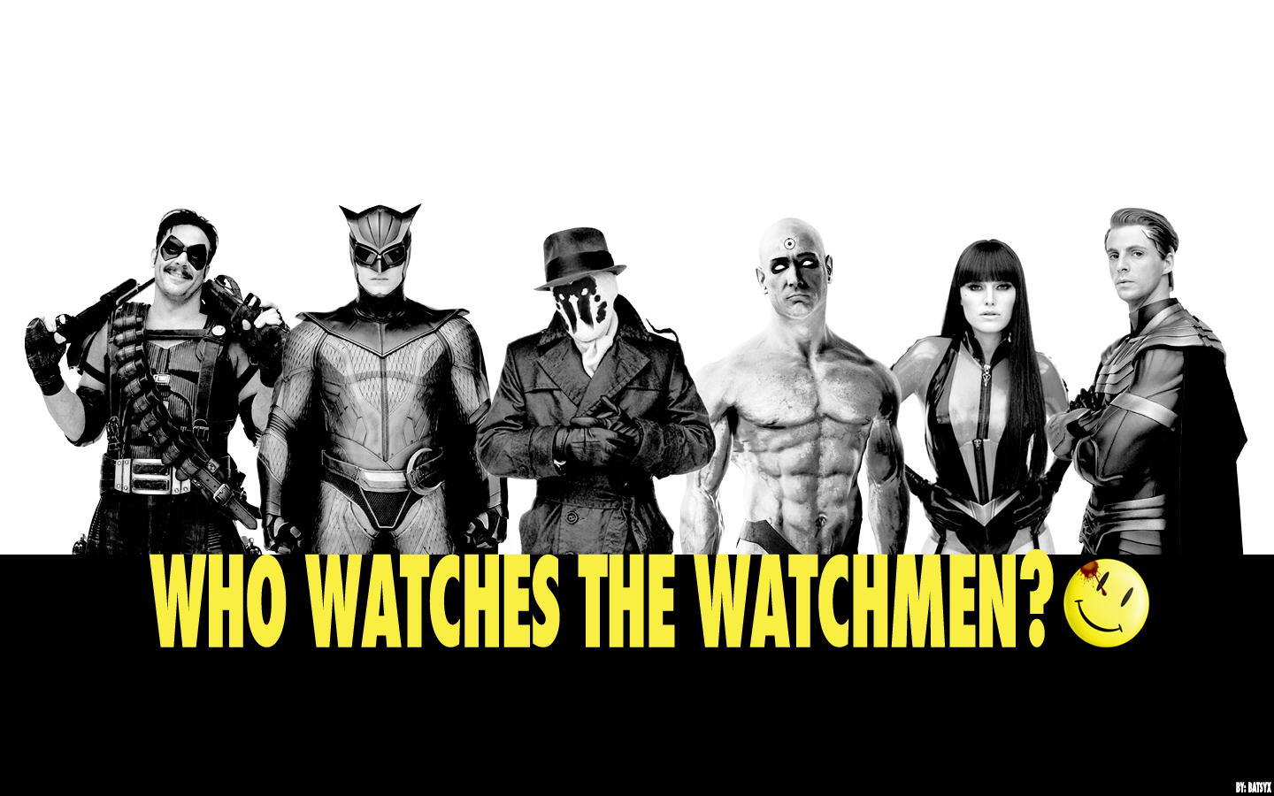 Who Watches the Watchmen? - Watchmen Wallpaper (14960175) - Fanpop