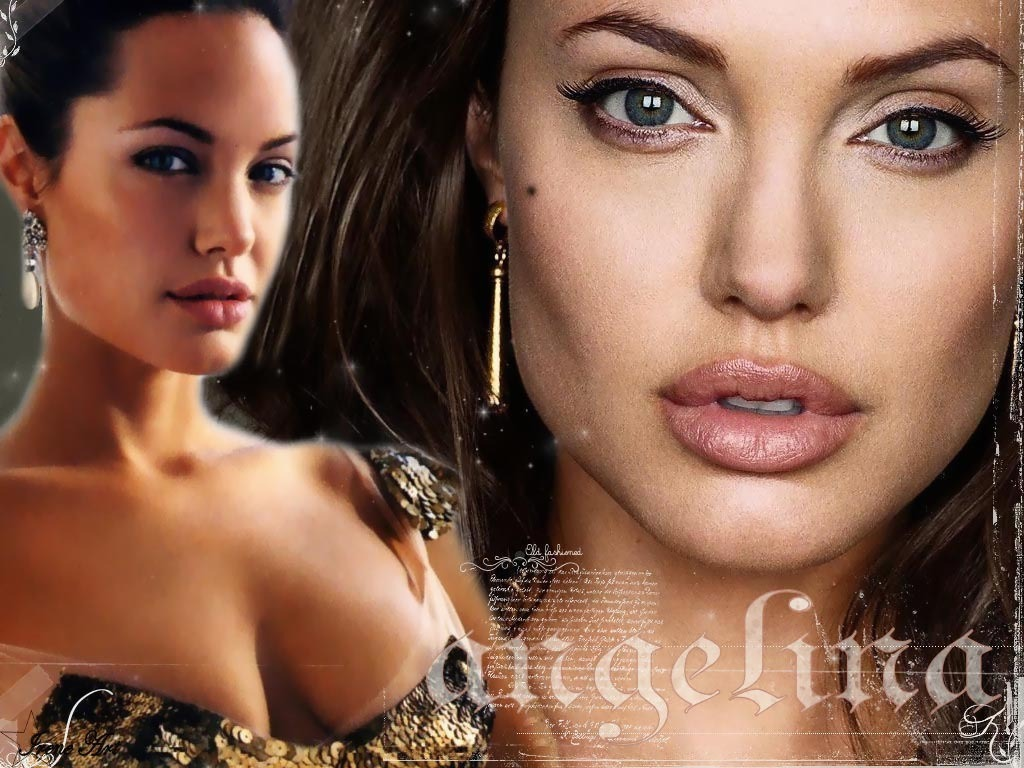 Angelina Jolie - Wallpaper
