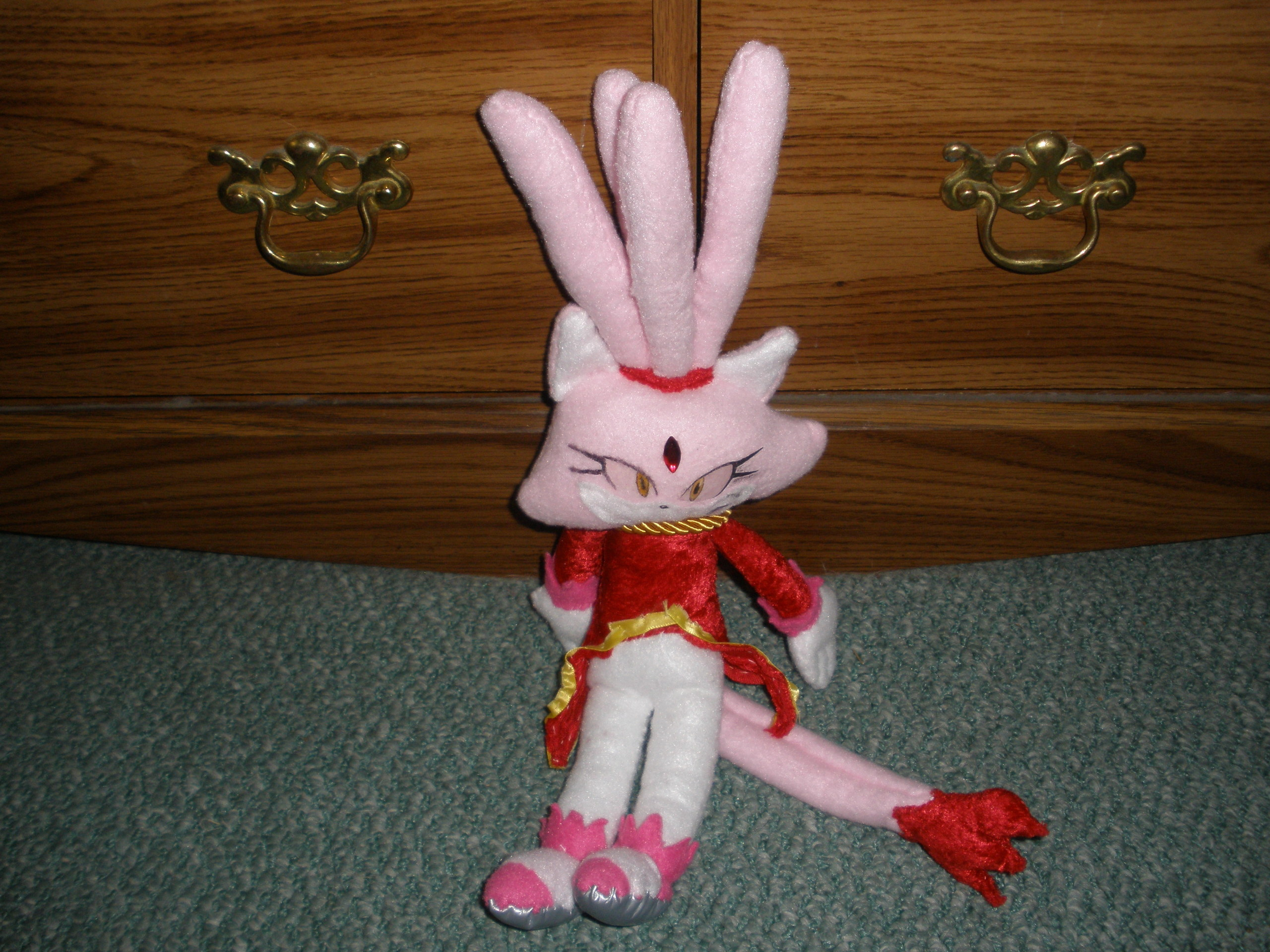 burning blaze plushie
