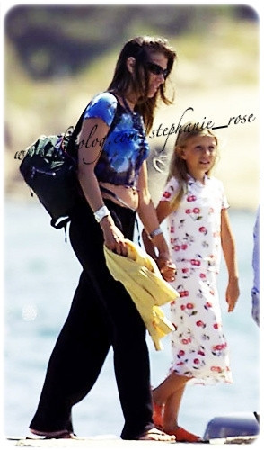 lil steph with mom