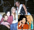 mj ,paris,nicky hilton and nicole richie - michael-jackson photo
