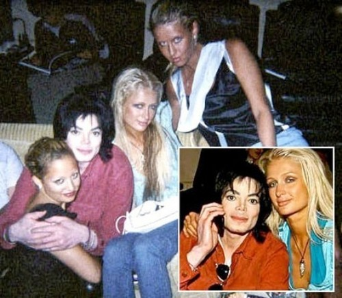 mj ,paris,nicky hilton and nicole richie