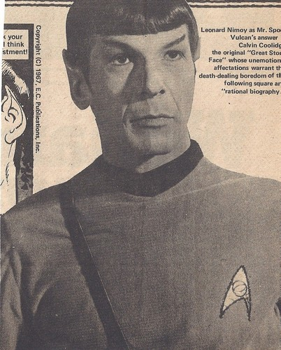 Spock - 1976 Magazine Scan