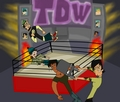 total drama wrestling  - total-drama-island fan art