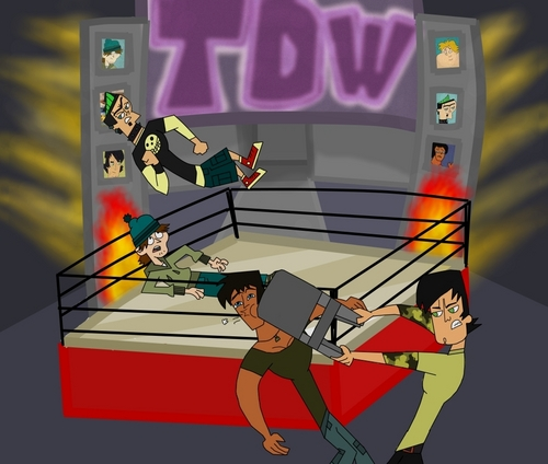 Total Drama Island wallpaper entitled total drama wrestling