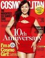 yunjin kim- Cover of Cosmopolitan Korea, September 2010