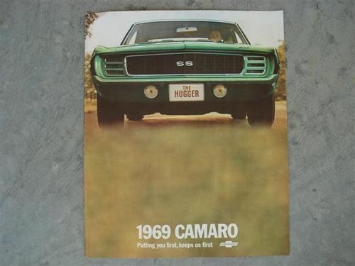 1969 Camaro SS - muscle-cars Photo